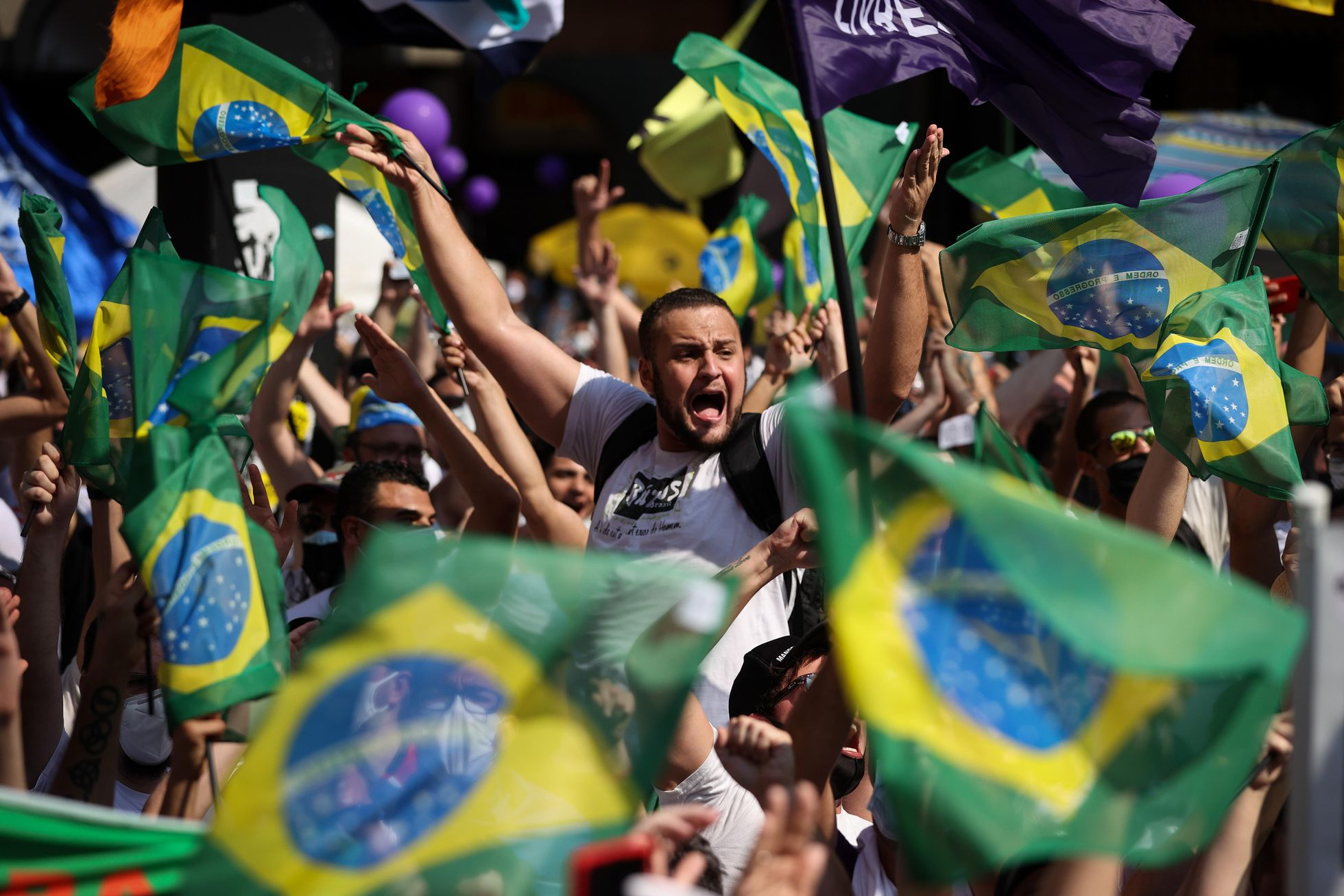 O Brasil que não quer Bolsonaro nem Lula consegue um apoio tímido nas ruas