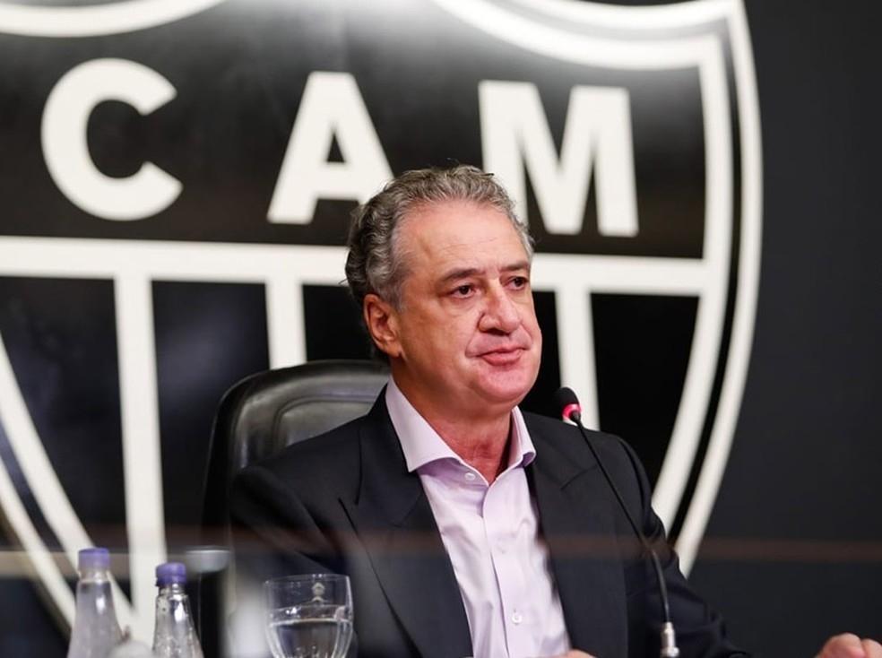 Galo: presidente confirma torcida contra Palmeiras e pede que público respeite o protocolo
